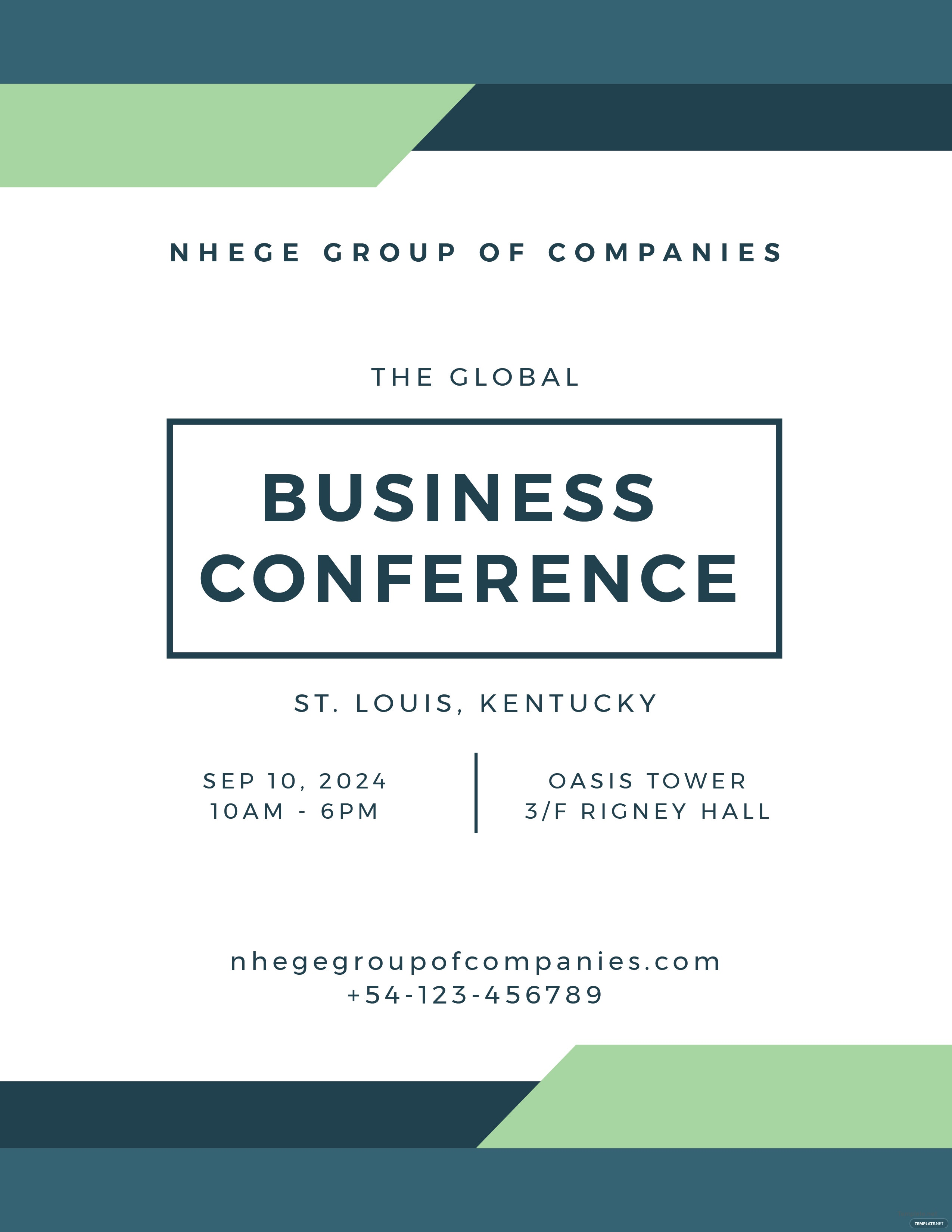 free conference program template in adobe photoshop  adobe