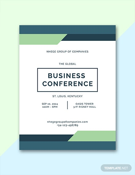 Free Conference Program Template