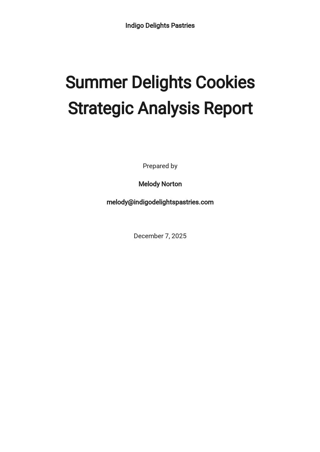Strategic Analysis Report Template.jpe