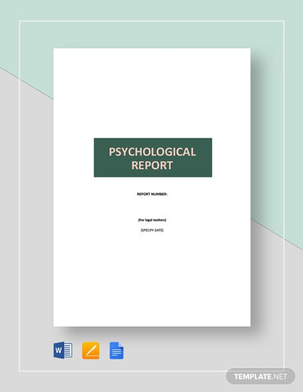 Psychological Report