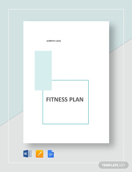 Fitness Plan Template