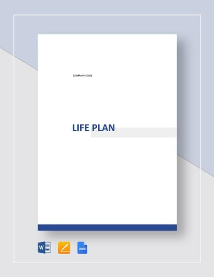 Life Plan Template