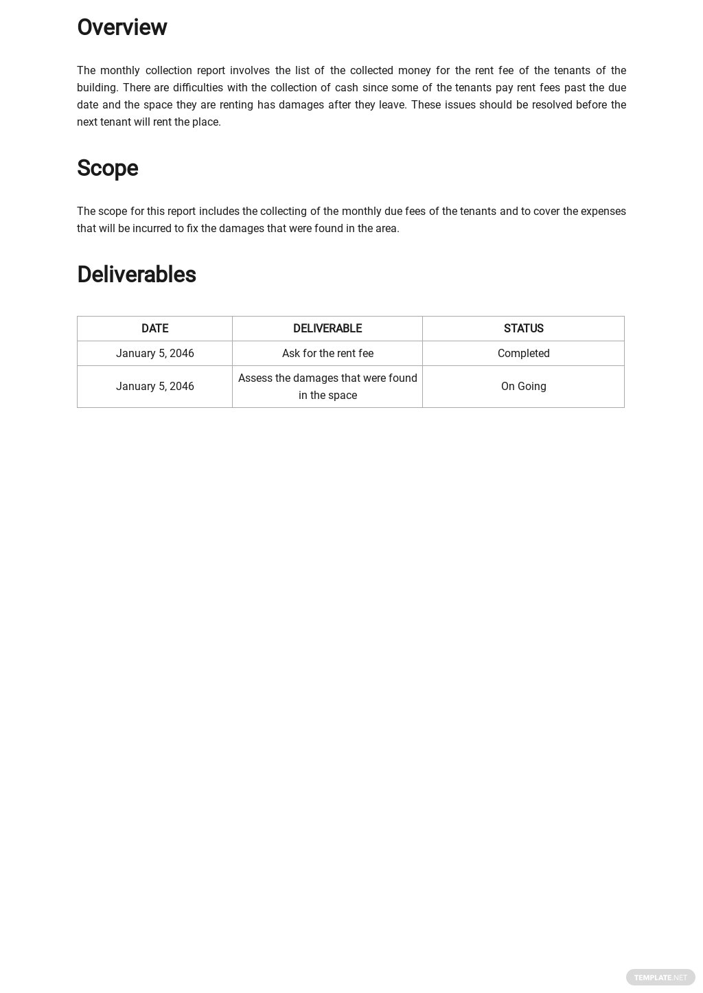 Monthly Collection Report Template 1.jpe