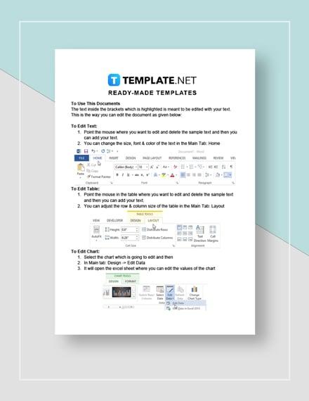 Sales Trip Report Instructions