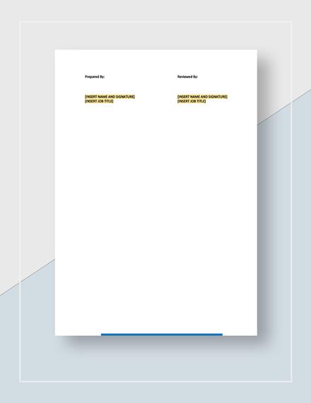 Treasurer Report Download