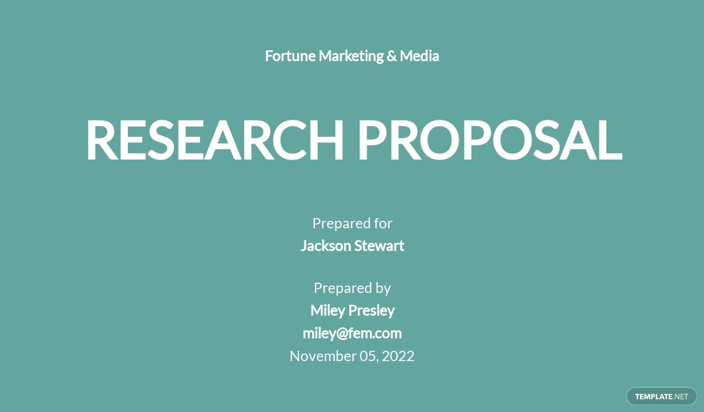 One Page Research Proposal Template.jpe
