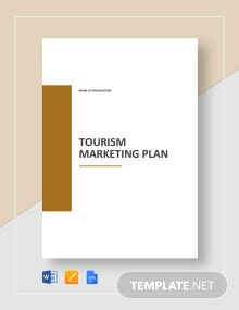 Tourism Marketing Plan Template