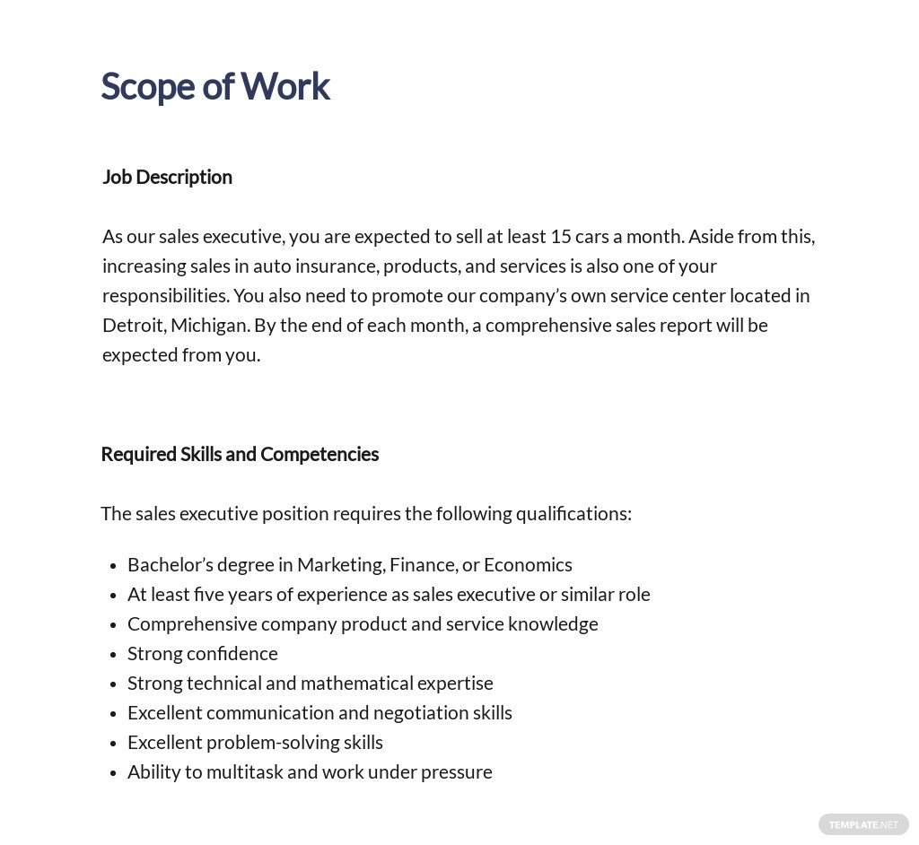 Employment Proposal Template [Free PDF] - Google Docs, Word, Apple Pages