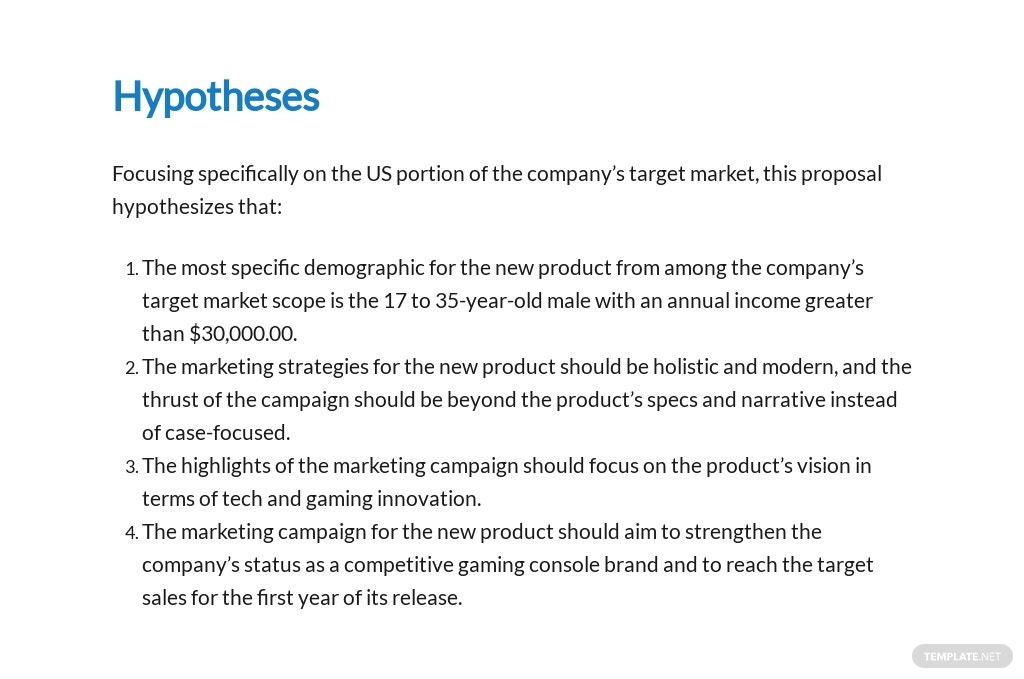 Marketing Research Proposal Template [Free PDF] - Google Docs, Word, Apple Pages, PDF
