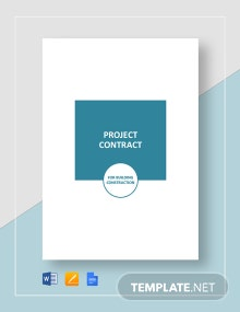 Project Contract Template