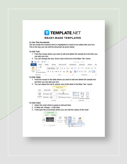 Treasurer Financial Report Instructions