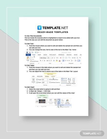 Sample Marketing Situation Analysis Instructions