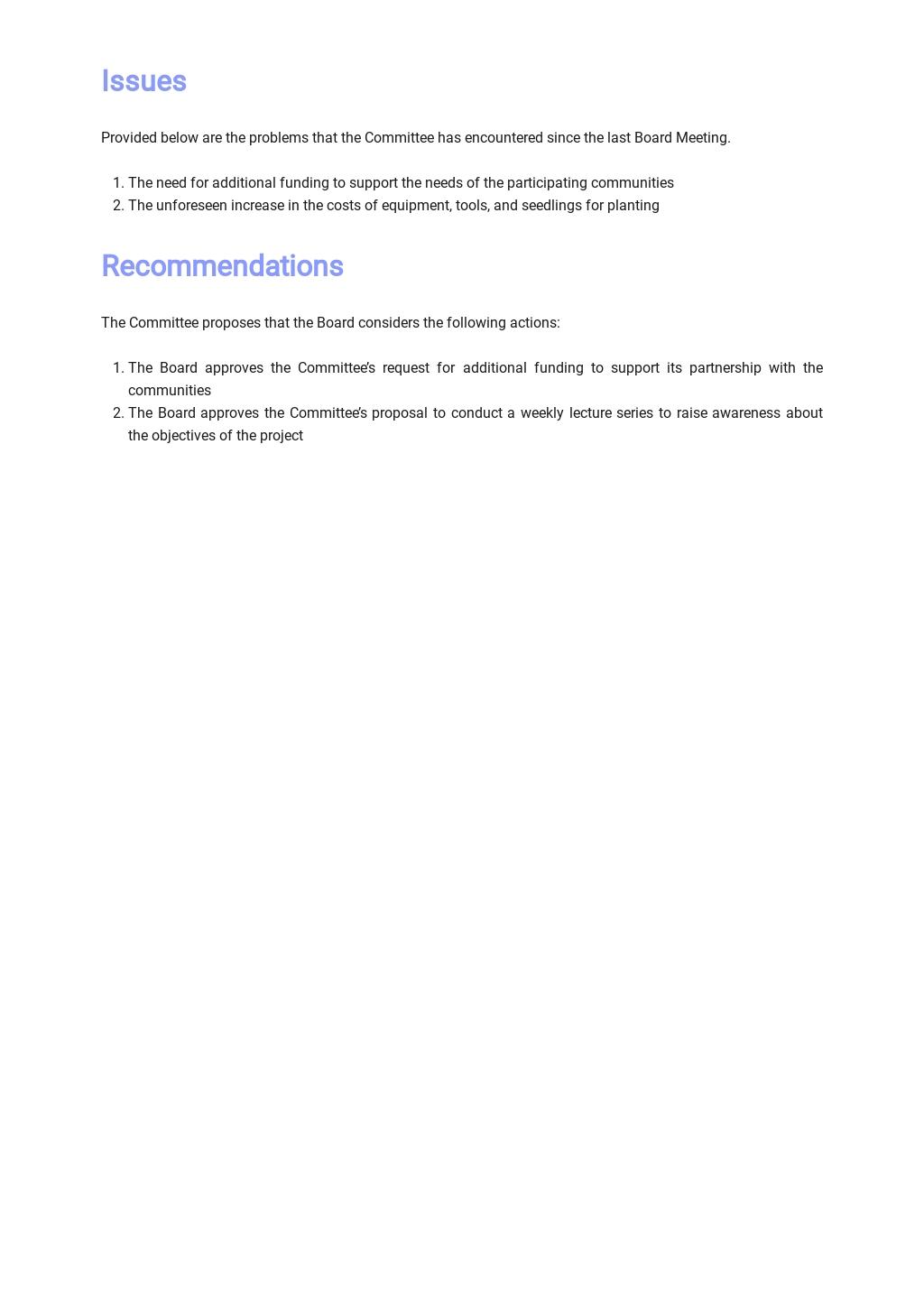 Non Profit Board Report Template 2.jpe