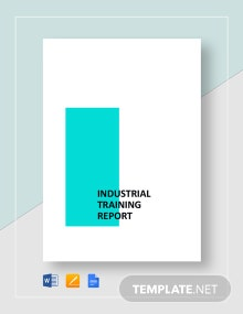 Industrial Training Report Template