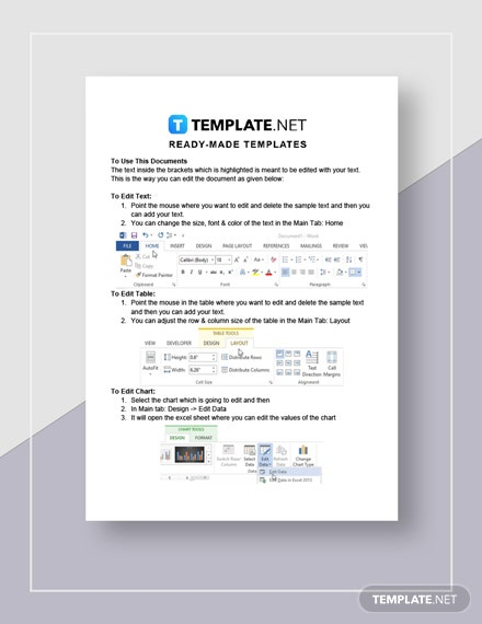 Business Data Analysis Report Instructions