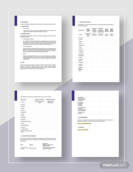 Simple Business Data Analysis Report