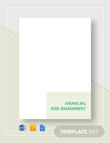 Financial Risk Assessment Template