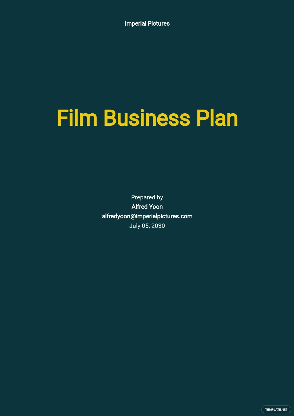 Film Business Plan Template.jpe