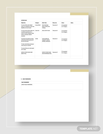 daily action planner Download