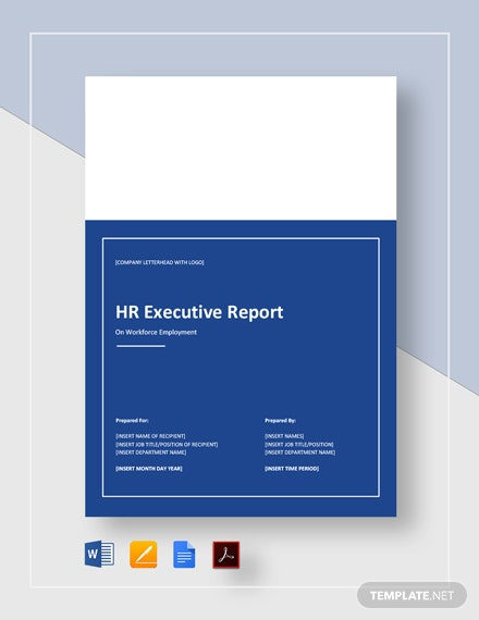 HR Executive Report