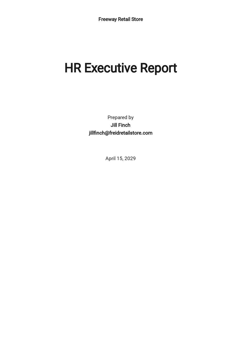 HR Executive Report Template.jpe