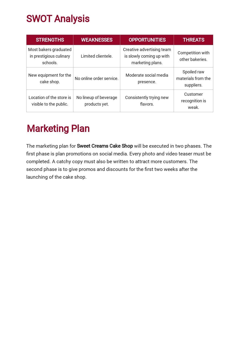 Cake Shop Business Plan Template 3.jpe