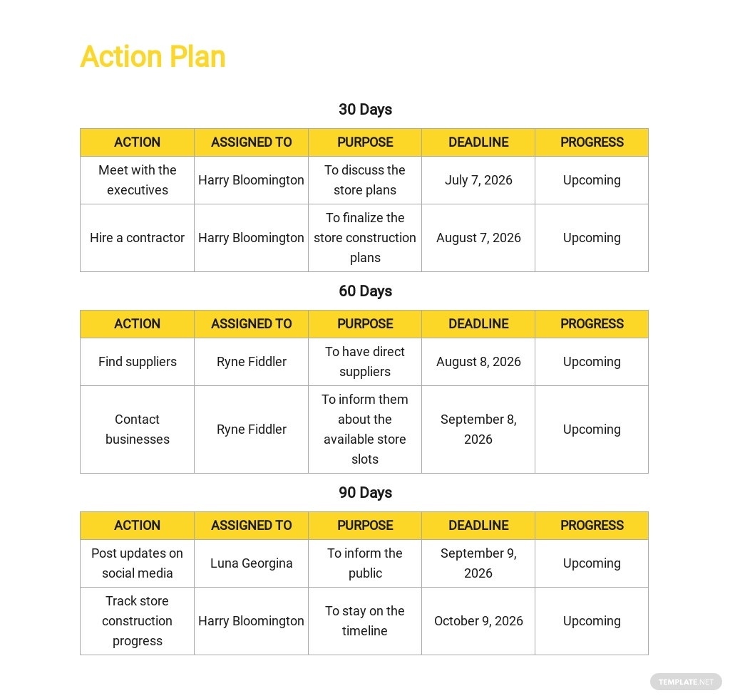 30 60 90 day Action Plan Template 3.jpe