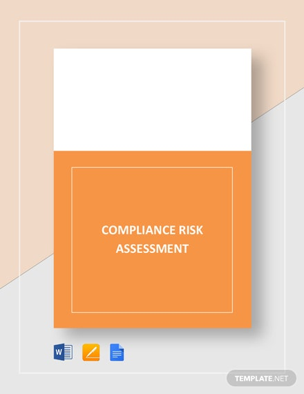 Compliance Risk Assessment Template