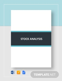 Stock Analysis Template