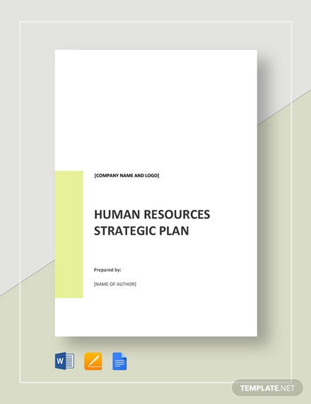 HR Strategic Plan Template