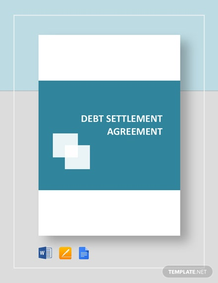 Debt Settlement Agreement Template