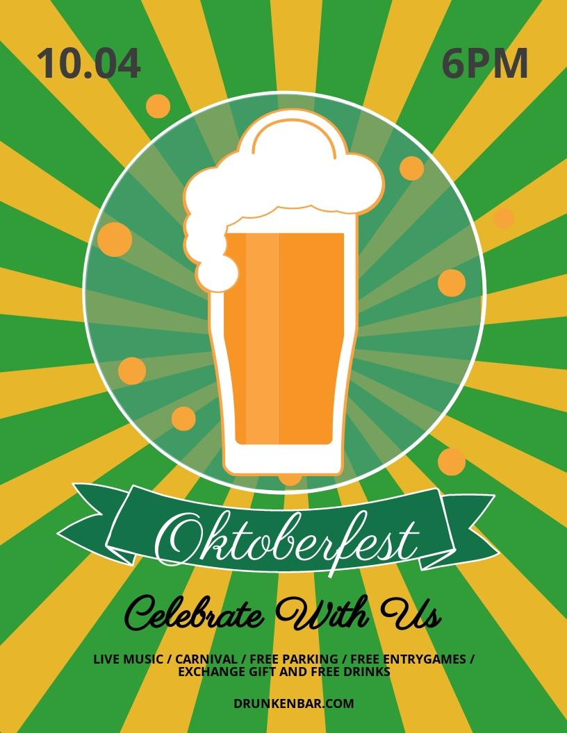 Free Oktoberfest Flyer Template.jpe