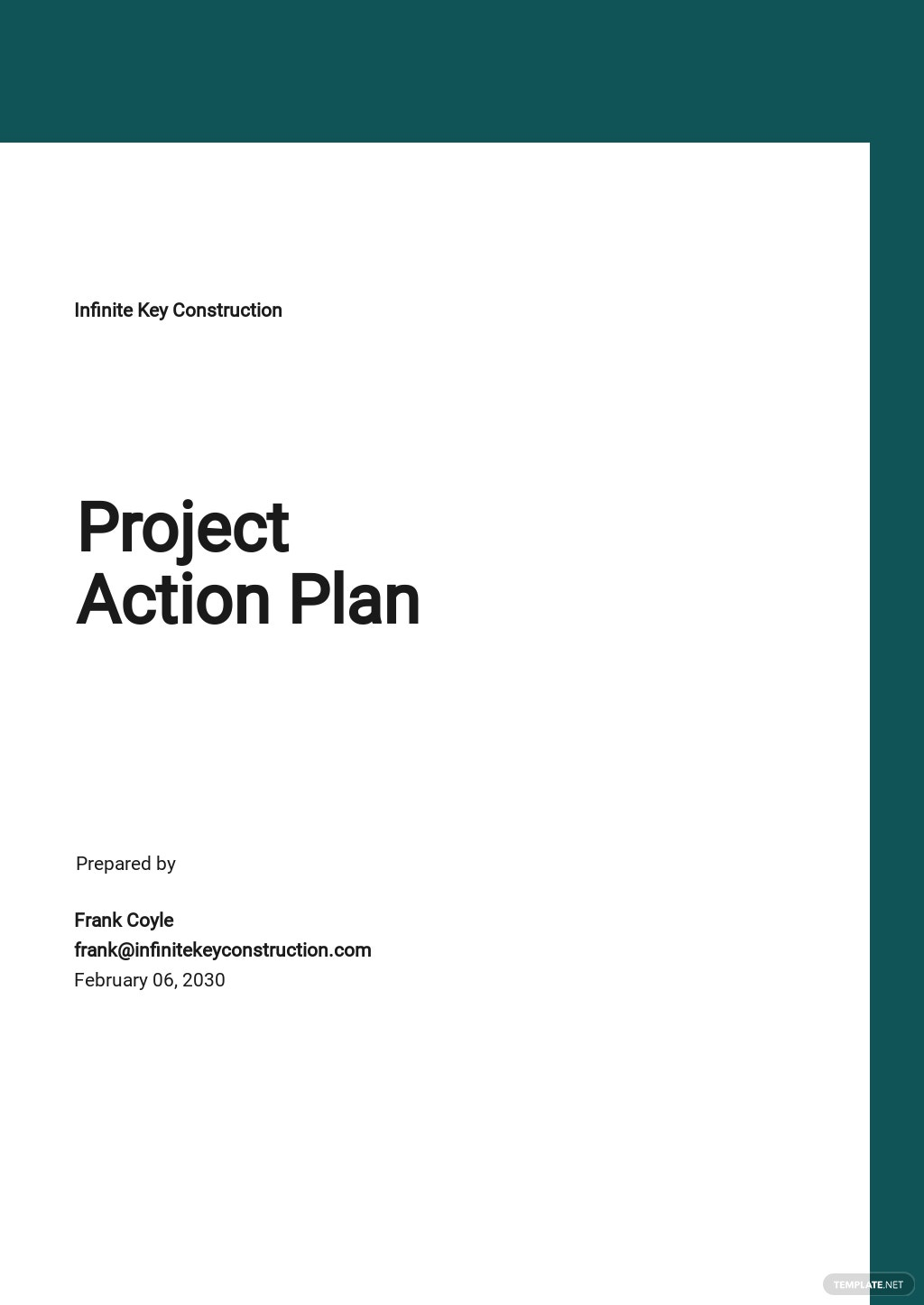 Sample Project Action Plan Template.jpe