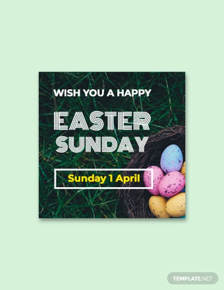 Free Easter Sunday Google Plus Header Photo Template