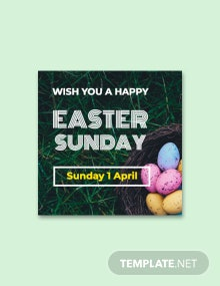 Free Easter Sunday Google Plus Header Photo Template