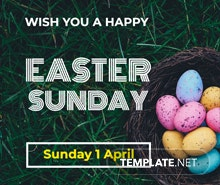 Easter Sunday Instagram Post Template