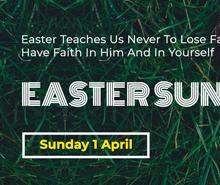 Easter Sunday LinkedIn Blog Post Template