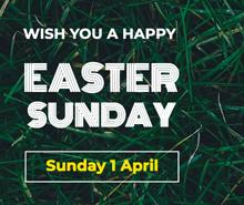 Easter Sunday LinkedIn Post Template