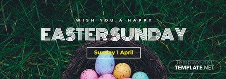 Easter Sunday Tumblr Banner Template