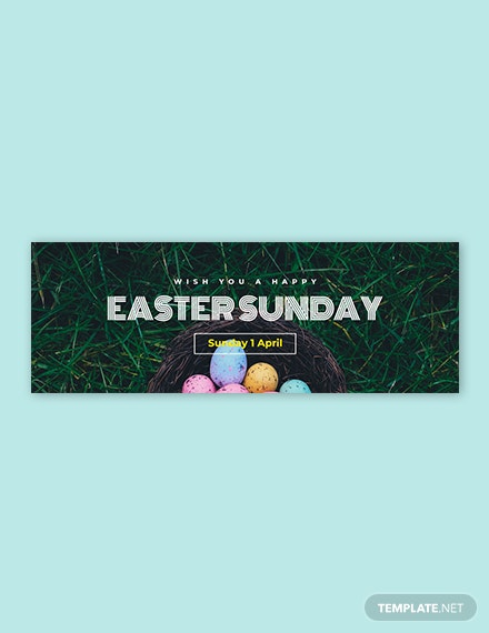 Free Easter Sunday Tumblr Banner Template