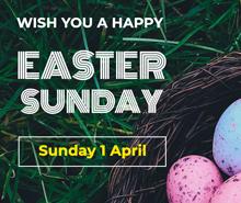 Easter Sunday YouTube Profile Photo Template