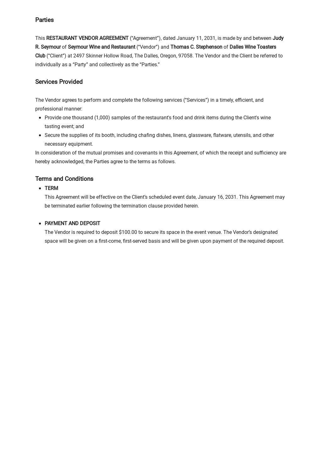 Restaurant Vendor Agreement Template 1.jpe