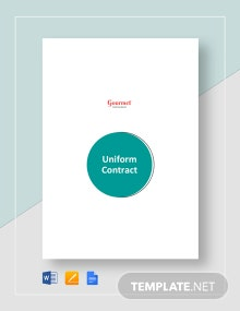 Uniform Contract Template