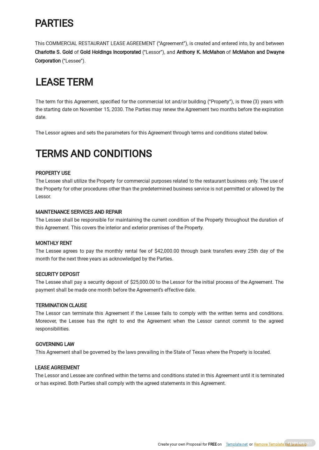 Commercial Restaurant Lease Agreement Template 1.jpe