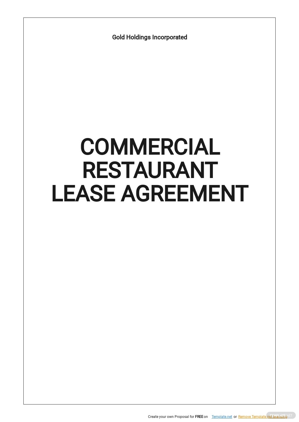 Commercial Restaurant Lease Agreement Template.jpe
