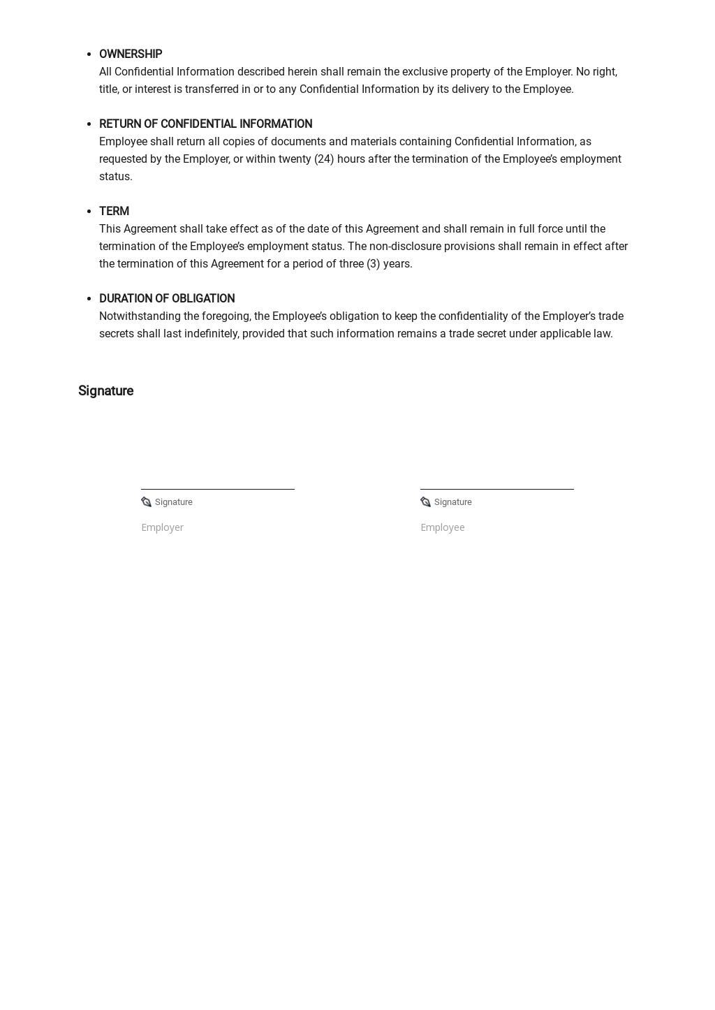 Restaurant Non Disclosure Agreement Template 2.jpe
