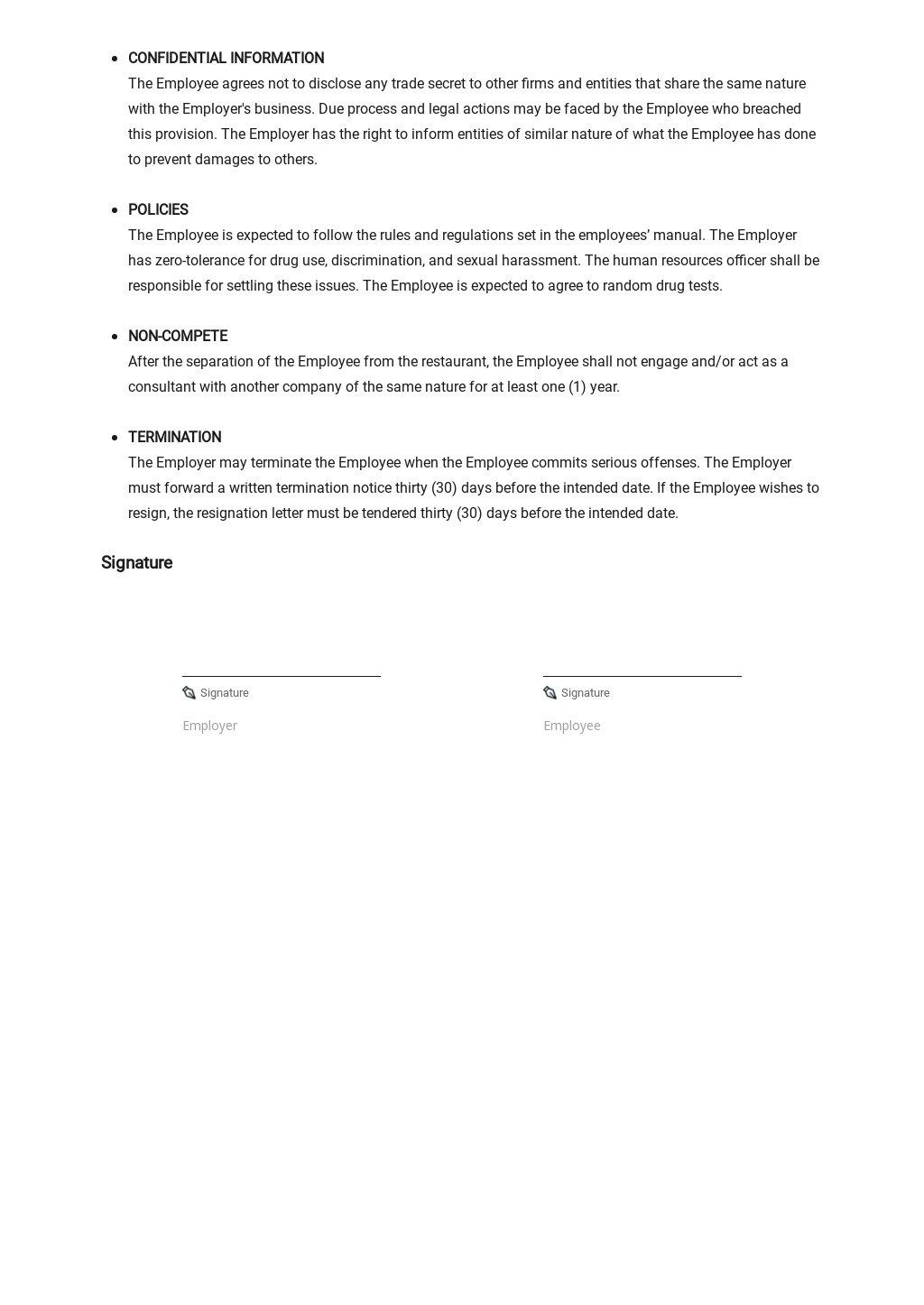 Restaurant Employment Agreement Template 2.jpe