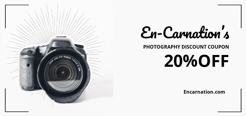 Photography Discount Voucher Template