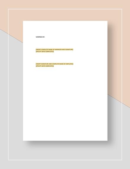 Restaurant New Hire Checklist Download