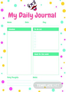 Free Funny Journal Template